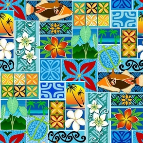 New Hawaiian Motif