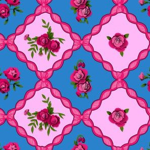 Small Rose Grid 2