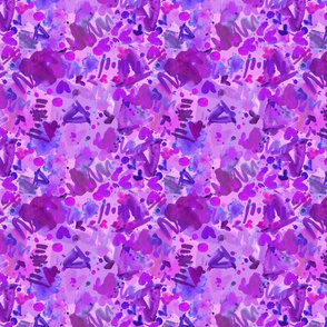 Abstract Purple Pizazz