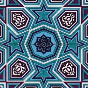 Ottoman Iznik Ceramic Tile