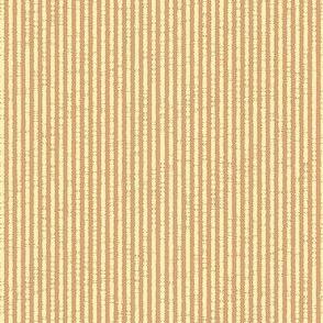 French Linen Petite Stripe - melon-ed