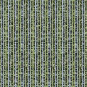 Seismic Shibori Fine - charcoal, green, blue-ed