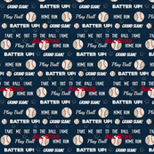 AllStar vintage navy  worn baseball stars and text  MEDIUM84