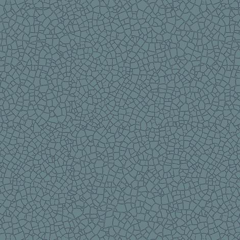 Bayeux blue craquelure fabric by weavingmajor on Spoonflower - custom fabric
