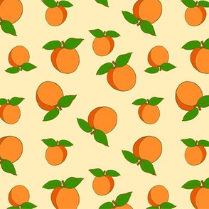 Apricots Sweet Cute Pattern