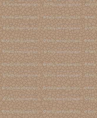 Natural mocha crackle