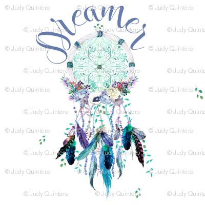 """8"""" Dreamer / Teal & Lilac Dream Catcher Mix & Match"""