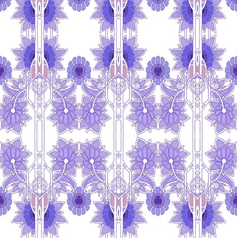The Garden Whisperer fabric by edsel2084 on Spoonflower - custom fabric