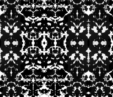 Rorschach Ink fabric by julia908 on Spoonflower - custom fabric
