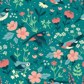 Birds & Blooms