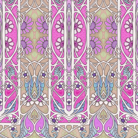 Quiet Summer Afternoons fabric by edsel2084 on Spoonflower - custom fabric