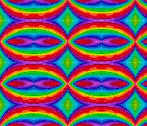 watercolour_rainbow fabric by rainingrainbows on Spoonflower - custom fabric