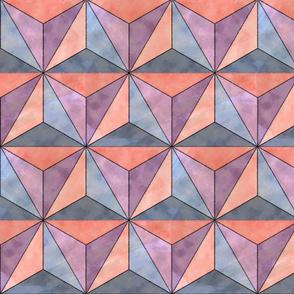 Watercolor Geodesic