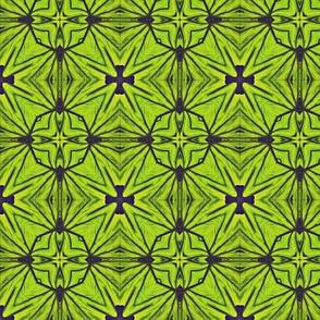 green banana tiles