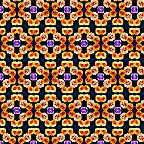 flowered tiles