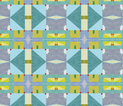 Watercolor Quilt fabric by texas_soul on Spoonflower - custom fabric
