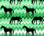 Relegant_black_horse_on_zigzag_greens_thumb