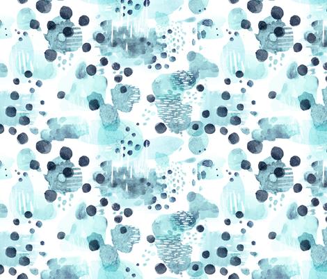 Watercolor Serenade  fabric by elizabethatlas on Spoonflower - custom fabric