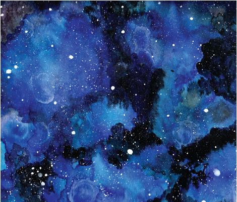 Star_Gazer fabric by charliecarli on Spoonflower - custom fabric