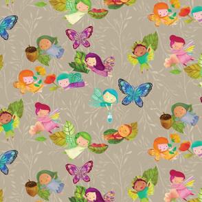Fairies in the Garden {Fawn}