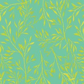 Garden Leaves {Green}