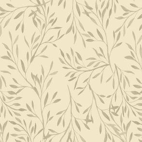 Garden Leaves {Ivory}