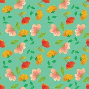 Little Blossoms {Aqua}
