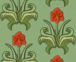 Rrcut_paper_art_nouveau_amaryllis_red_with_green_leaves_thumb