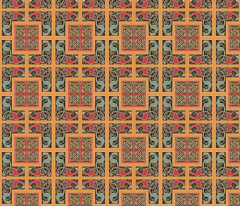 celtic 3 fabric by hypersphere on Spoonflower - custom fabric