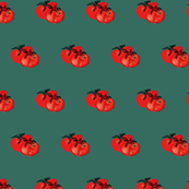 Tomatoes hugging