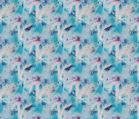 Watercolour Abstract Hex fabric by dragonfairy on Spoonflower - custom fabric