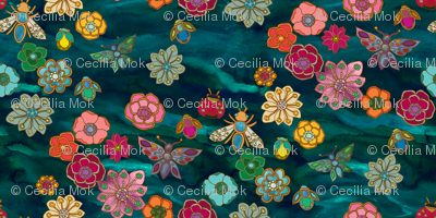 The Jewelled Garden {Turquoise}