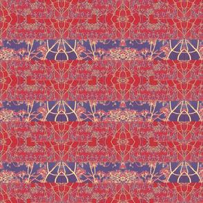 Primarily red stripe