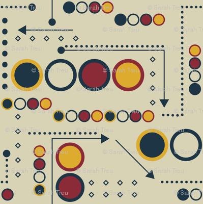 Arcade Dots and Arrows