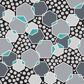 Intersecting Hexagons (Modern)