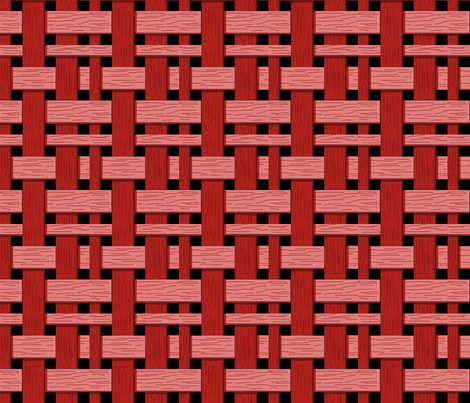 red_double_weave_4x4 fabric by leroyj on Spoonflower - custom fabric