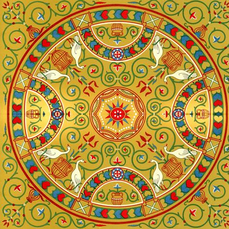 byzantine 8 fabric by hypersphere on Spoonflower - custom fabric