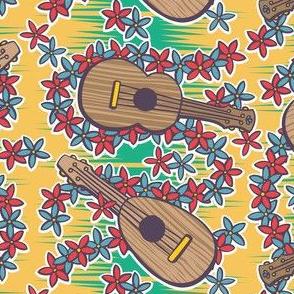 Oily Aloha - Ukulele - Yellow