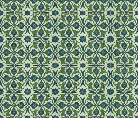 arabesque 3 fabric by hypersphere on Spoonflower - custom fabric