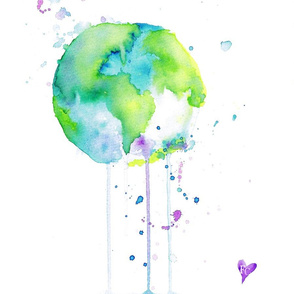 Watercolour World by FreyaCami