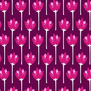Tulip Fields (Dark Pink)