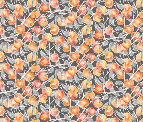 Peachy fabric by graceful on Spoonflower - custom fabric