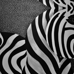 Zebra Mirrored by JVB
