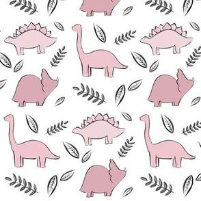 dinos! // pink