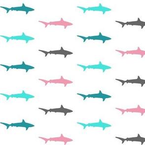 Sharks and sharks pink