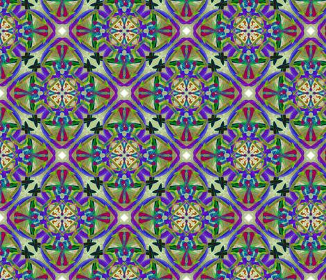 Brush Marks fabric by enid_a on Spoonflower - custom fabric