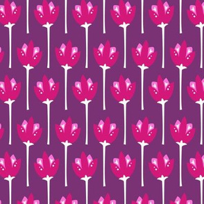 Tulip Fields (Purple)