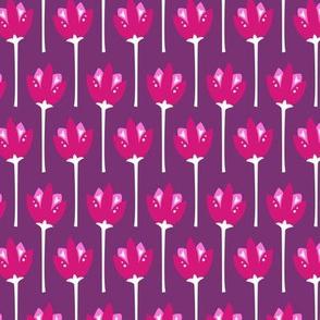 Tulip Fields (Purple)