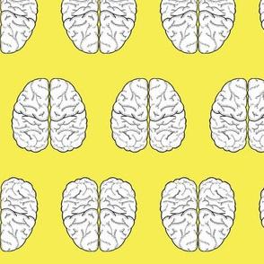 Brain Sketch | Yellow