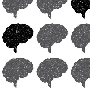 Brain Stamp | Black
